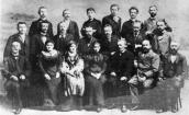 In 1898 with ukrainian writers