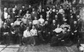 In 1904 among teachers and students